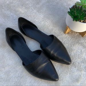 Vince | Pointed Toe D'orsay Flats Sandals Size 6.5
